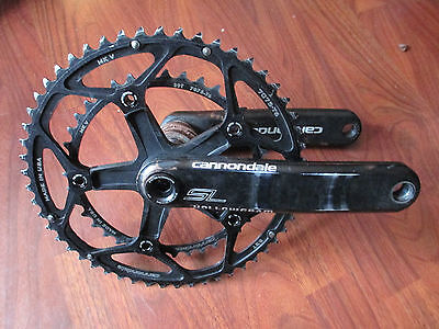 Cannondale KP021// Lockring Si For Hollowgram Cranks OPI Spiderings New