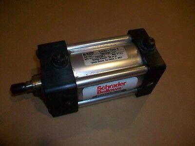 Schrader Bellows Econo-ram Ii Pneumatic Cylinder Fw2c101621 2.250  New