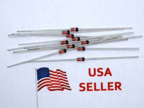 1N4148 Fast Switching Signal Diode DO-35 DO35 IN4148 (10 Pieces) USA SELLER