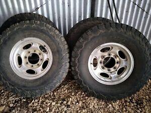 F250 tyres & rims