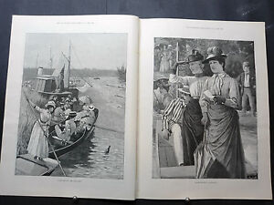 1888-ILLUSTRATED LONDON NEWS-RaRe Schloss Braunfels Germany,Ballantrae,Berehaven
