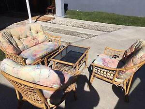 Outdoor cane furniture set Boondall Brisbane North East Preview