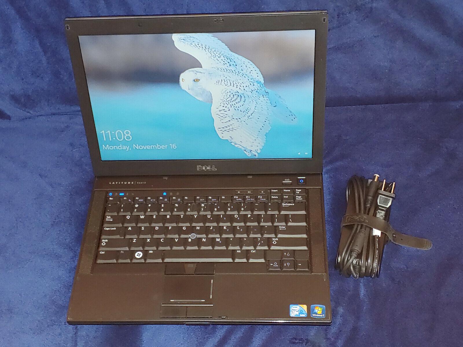 Dell Latitude E6410 Core I5 2.4GHz 4GB RAM 320GB HDD Win 10 Pro SEE COND - $65.00
