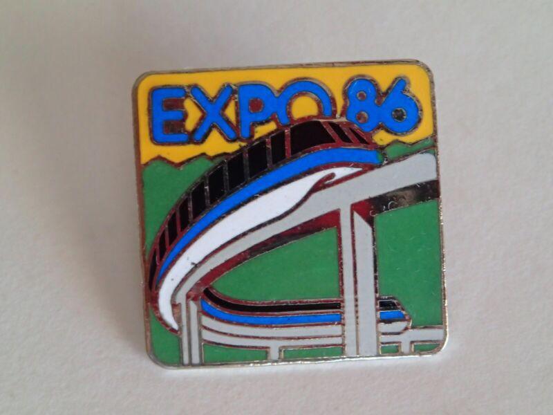 EXPO 86 PIN, Lapel Hat Pin Clasp Pinback, Collectible 1986 Vancouver Canada Fair