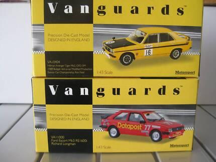 2 x Vanguards 1:43 Ford Escort/Hillman Avenger Lewiston Mallala Area Preview