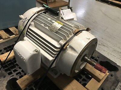 Baldor Reliance Industrial Motor 40hp 230460v 3550rpm 324jm 60hz 3ph