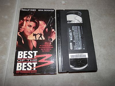 Best of the Best 3 No Turning Back Video VHS Phillip Rhee Gina Gershon 1995