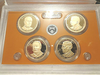 2013 S Presidential Proof Dollar Set  No Box or Coa