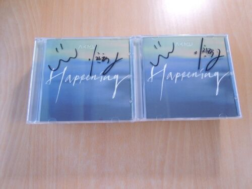 AKMU - HAPPENING (Single Promo) with Autographed (Signed)