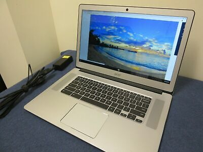 "Acer Chromebook 15 CB515-1HT P39B 15.6"" Touch Full HD 4GB Ram 32GB Storage N4200"