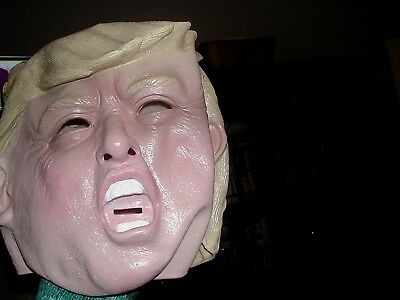 NWT Trump Donald Mask (Latex) Halloween Costume Adult President