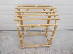Bathroom Cane Bamboo Towel Rail Stand Holder Air Dryer Cranbourne East Casey Area Preview
