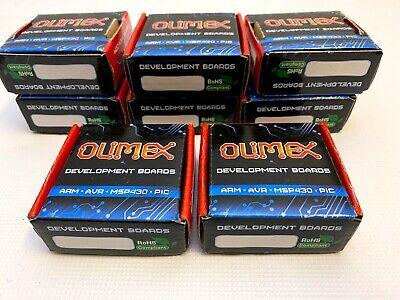 8 X Olimex Development Boards Arm-jtag-20-10 New