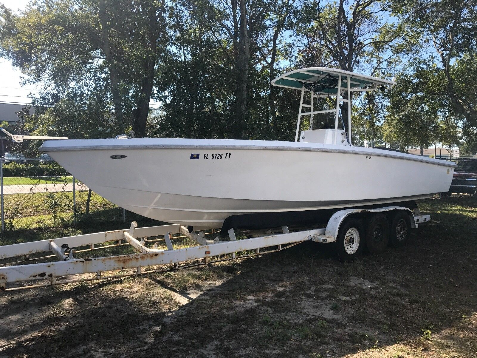30' Olympian Offshore Center Console Fishing Boat