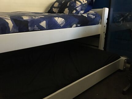 Bunkers single captains bed with trundle