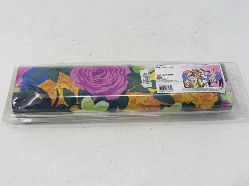 """Ouran High School Host Club Fabric Poster (29.5"""" X 42"""") GE77565 Funimation NEW"""