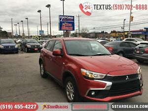 2017 Mitsubishi RVR SE | 1OWNER | AWD | CAM | HEATED SEATS