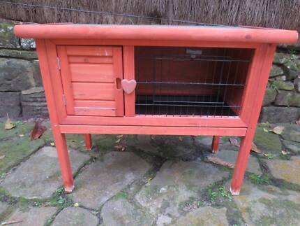 GREAT TIMBER HUTCH for HAMSTER or other - ABOVE GROUND on LEGS Rozelle Leichhardt Area Preview