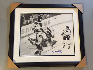 Autographed Bobby Orr Print