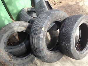 COLLECTION OF USED TYRES SUIT GARDN USE Albury Albury Area Preview