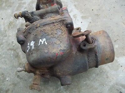 Farmall M Mv Early Sm Ih Tractor Engine Motor Carburetor Assembly Ihc