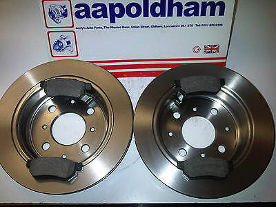 ROVER 25 200 GENUINE MINTEX FRONT BRAKE DISC /& PADS SOLID 45