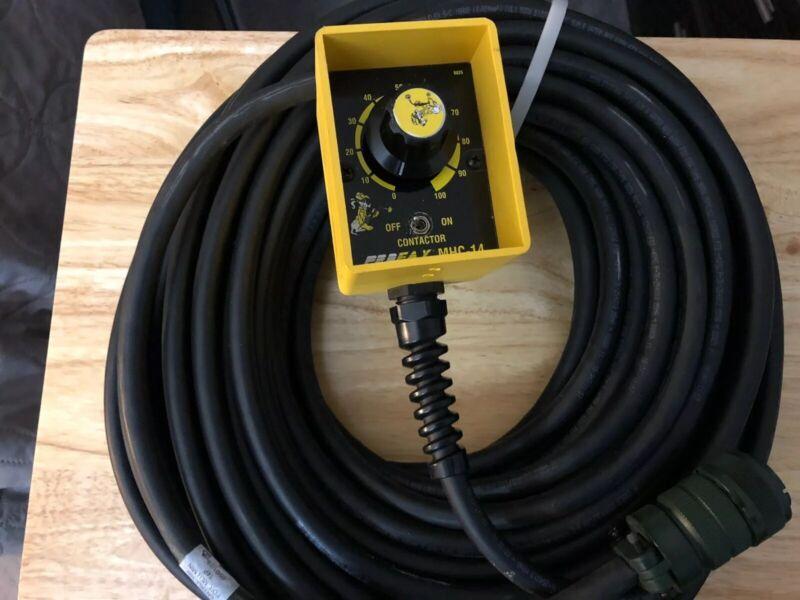 Profax MHC-14 Welder Amperage Amp Remote For Miller machine's W/100