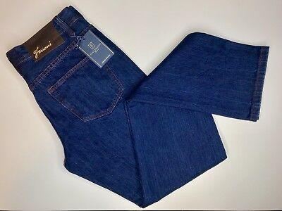Fonz Ferroni Jeans New Blue Jeans Z Best Suede Patch Size 32 JFW-8926