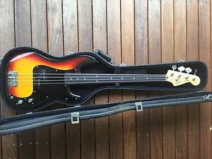 Fender Fretless Squire P Bass Japanese Vintage Silver Series North Ryde Ryde Area Preview