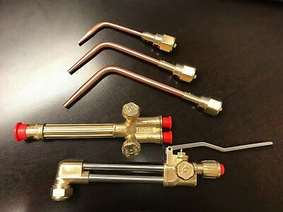 Excess Stock - Genuine Victor Ca2460 315fc Cutting Torch Set W Brazing Tips