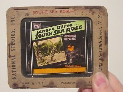 South Sea Rose -Original 1929  Movie Glass Slide- Lenore Ulric