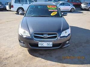 2008 Subaru Liberty Wagon 4sp Auto 2.5 Charcoal Colour Fyshwick South Canberra Preview