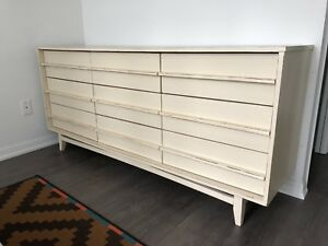 VINTAGE WOOD DRESSER BEDROOM CLOTHING