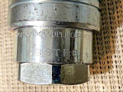Dixon F-8stf8 Hydraulic Quick No Drip Coupler Coupling Series St 1 Ntpf
