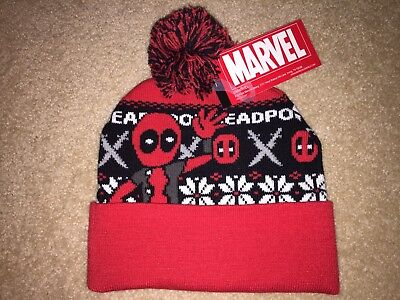 DEADPOOL movie Assassin MARVEL sword COMIC Book Cable New MEN'S Beanie Hat CAP