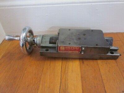 Setco M1 Dovetail Slide Cnc Milling Lathe Machinist Toolmaker Tool Retail 1452