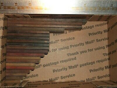 20pc Antique Lot Wood Type Fancy Shaded Rulingborder Letterpress Printing Press