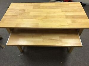 Solid wood kitchen work table or desk