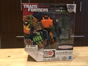 New! Transformers Generations Voyager Class Roadbuster Figure