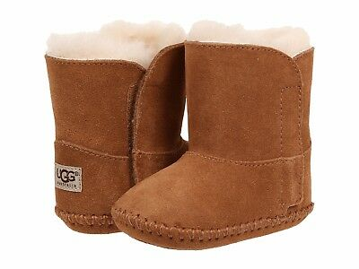 Ugg Booties Baby (NEW UGG CADEN CHESTNUT BOOTIES  TODDLER INFANT BABY CRIB AUTHENTIC 1005198I)