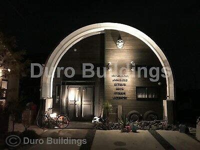 Durospan Steel 30x40x15 Metal Diy Home Building Kit Open Ends Factory Direct