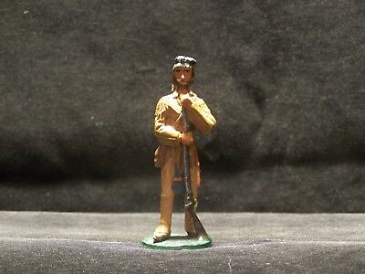 Toy Soldiers & Figures: The West, Mountain Man with Coon Hat (Brown Beard) (Hat Toy Soldiers)