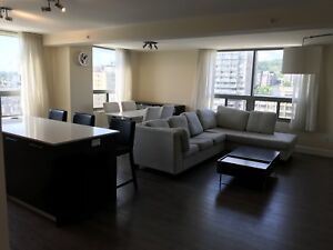 Luxury 2 bedroom condo downtown 2700$/ month all included