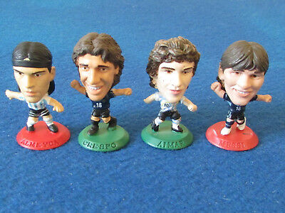 Loose Corinthians Football Figures - Lot of 4 - Argentina - Mixed Seasons