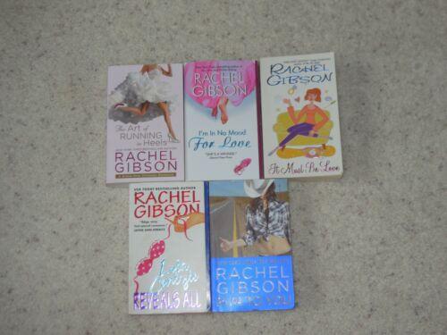RACHEL GIBSON 5 Paperbacks