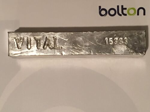 Indium Metal Bar Ingot 99.99% 4N Pure 1000g (appox. 1 kg./2.2 lbs)