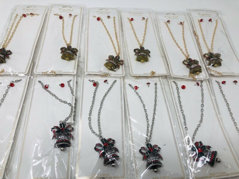 Lot of 12 pcs Necklace for Christmas .
