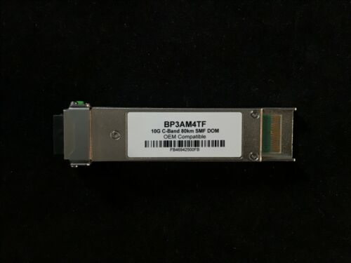 BTI Compatible BP3AM4TF 100GHZ XFP DWDM Tunable 80km