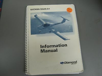 Katana Da20 A1 Information Manual  Diamond Aircraft
