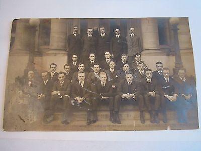 5 VINTAGE GROUP PHOTOS - 1920'S - BLACK AND WHITE - SEE PICS - TUB QQQ